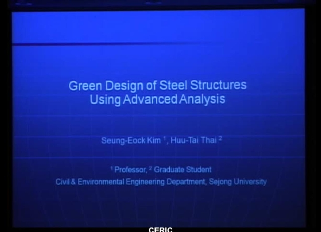 Green Design of Steel Structures Using Advanced Analysis