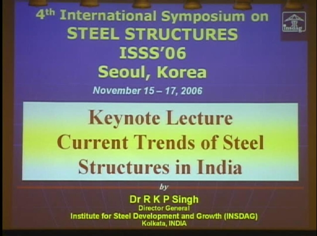 Current Trends of Steel Structures in India