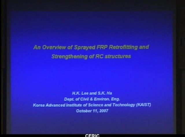 An Overview of Sprayed FRP Retrofitting and Strengthening of RC structures