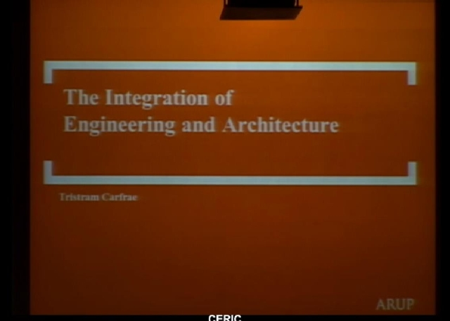 The Integration of Engineering and Architecture